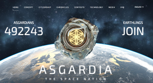 Asgardia – The Space Nation: Astrologically Speaking | Asgardia | Space Nation | Astrology South Africa | Sublunar Astrology